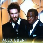 Ebert wins first Golden Globe